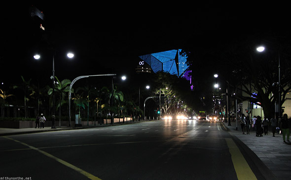 Singapore Orchard road Orchard Central signal