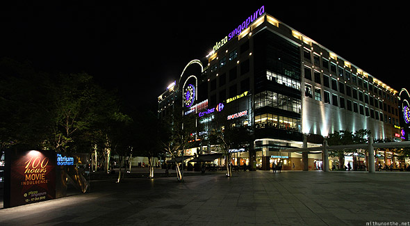 Singapore Orchard road Plaza Singapura Carrefour
