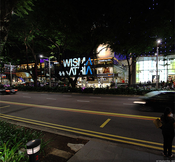Singapore Orchard road Wisma Atria mall