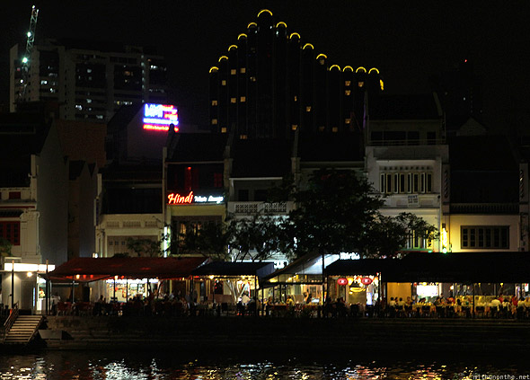 Singapore river Clarke Quay eateries