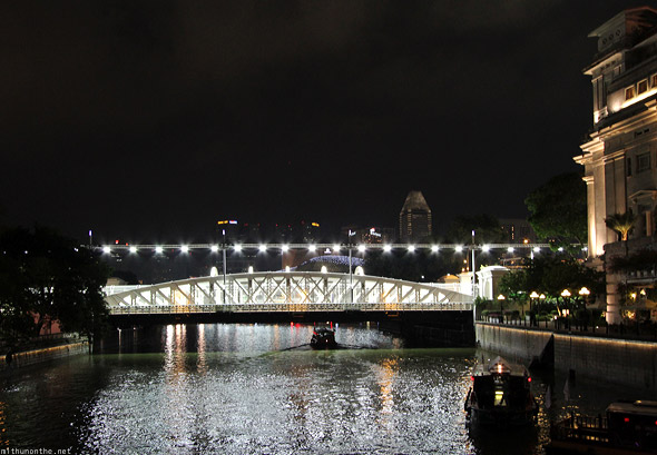 Singapore river cruise F1 night