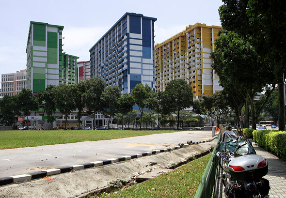 Singapore Rochor Centre colourful apartments