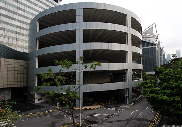 Suntec City plaza parking building