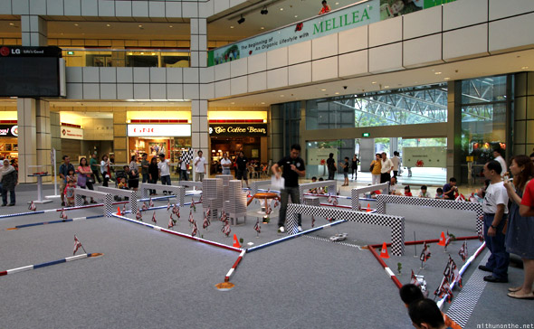 Suntec city R/C car racing challenge