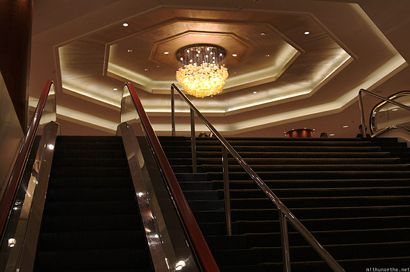 Swissotel The Stamford Singapore stairs