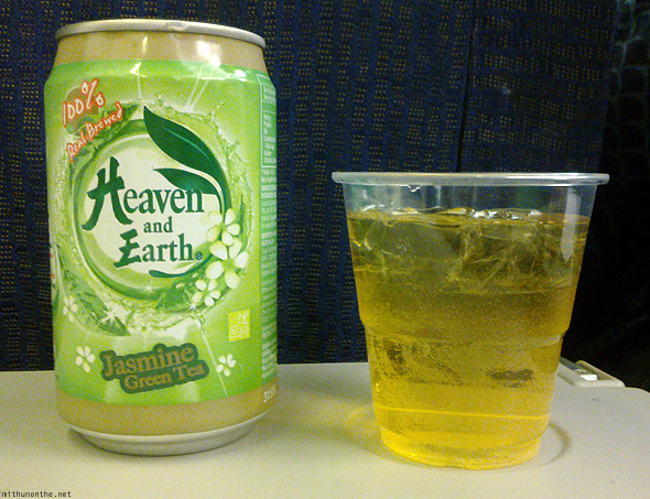Tiger Airways Heaven and Earth Jasmine tea