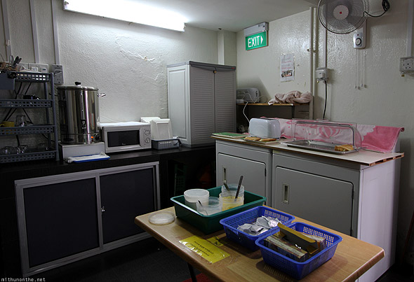 ABC Backpacker hostel breakfast kitchen Singapore