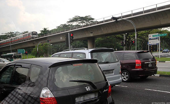 Ang Mo Kio metro road traffic Singapore