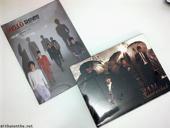 Shinee Hello 2AM Saint O' Clock album CDs India