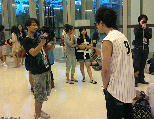 Jay Park Thailand fan meet MTV interview