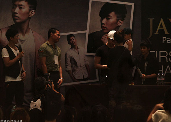 Jay Park Thailand fan meet young fan