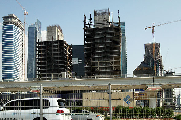 Sheikh Zayed road small building contruction