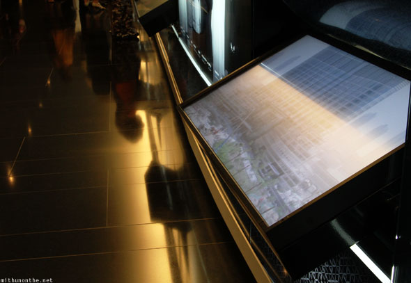 Burj Khalifa ground video displays