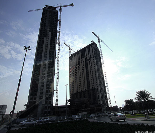 Dubai construction progressing