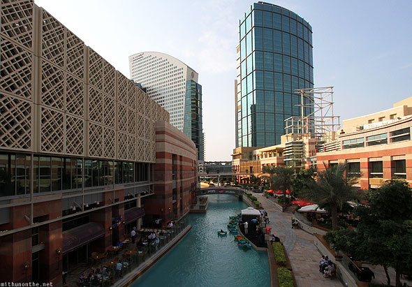 Dubai Festival City water canal