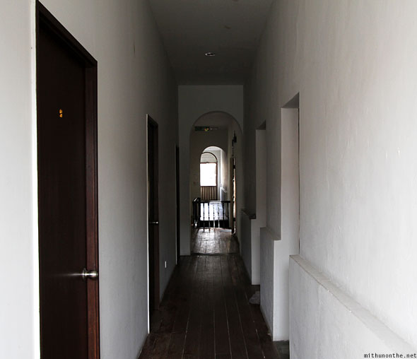 Old Penang Guesthouse corridor rooms