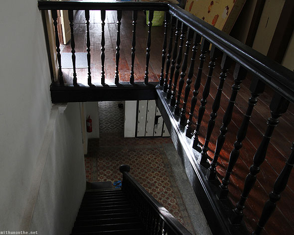 Old Penang Guesthouse staircase