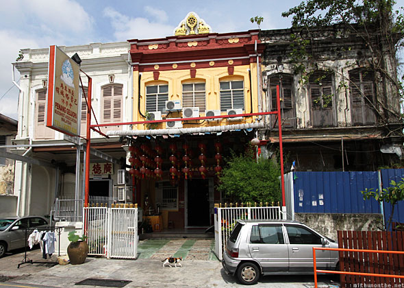 Penang Chinese buddhist temple
