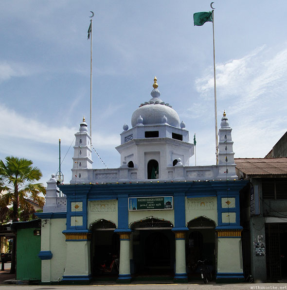 Penang Georgetown Nagore Indian mosque