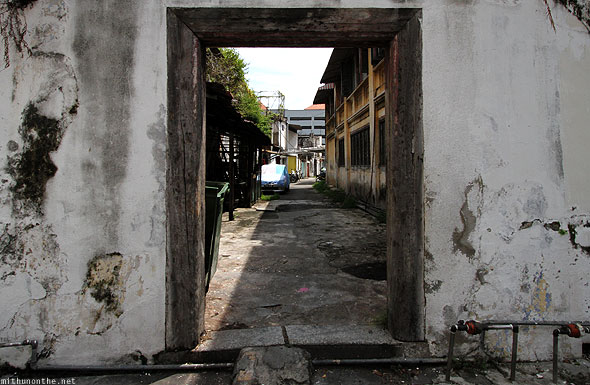 Penang Georgetown old doorway