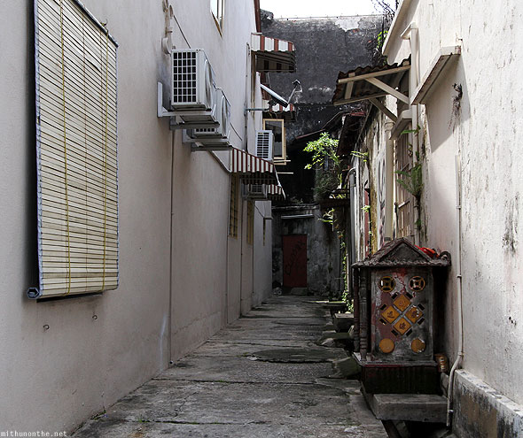 Penang Love lane alley