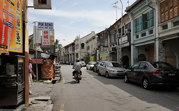 Penang Love Lane cheap hotels