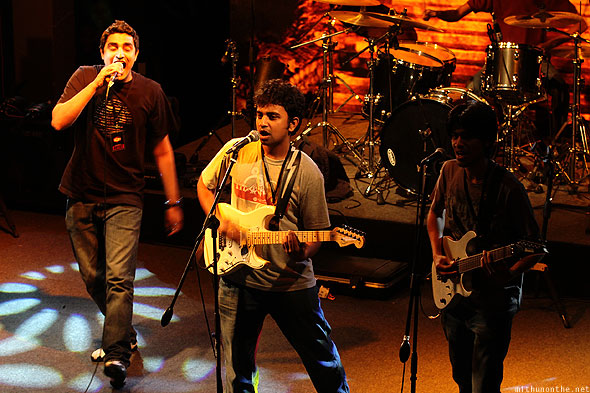 Fahrenheit Bangalore band Led Zepplica UB city