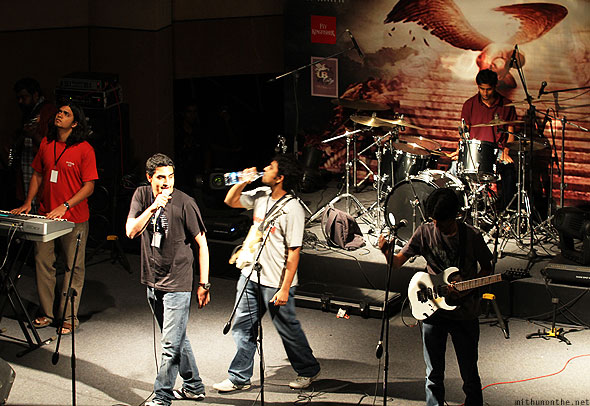 Fahrenheit opening act Led Zepplica UB city Bangalore