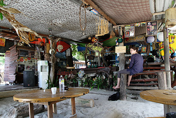 Babylon beach shack bar Pantai Cenang Langkawi