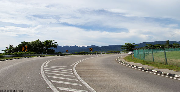 Bend near Langkawi airfield