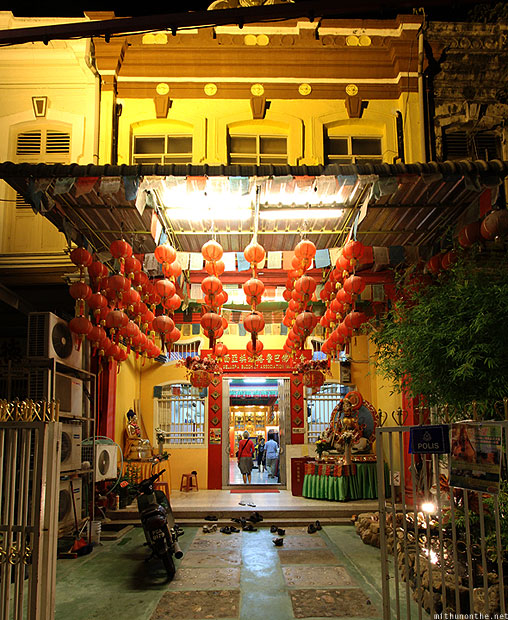 Gelugpa Buddhist Association temple Georgetown Penang