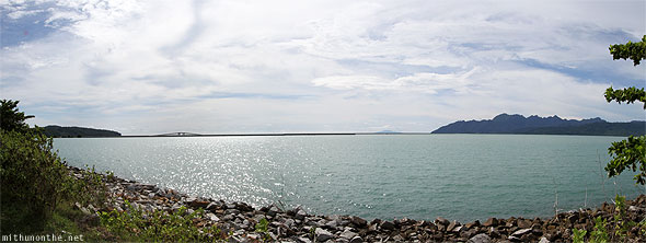Langkawi bridge panorama