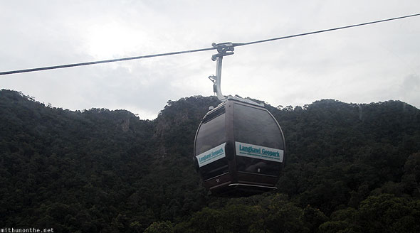 Langkawi cable car design