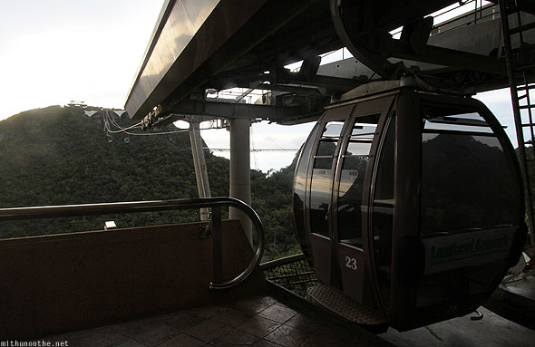 Langkawi cable car first station