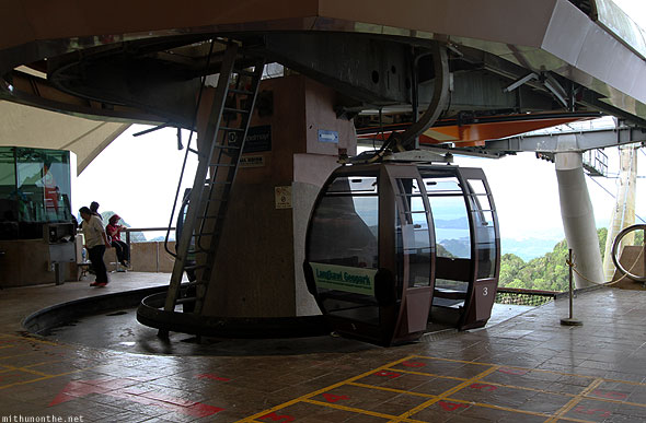 Langkawi cable car highest station