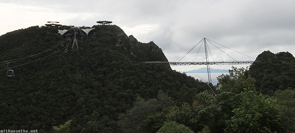 Langkawi cable car sky bridge