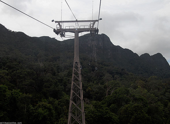 Langkawi cable car tower