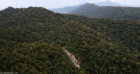 Langkawi Geological Park waterfall