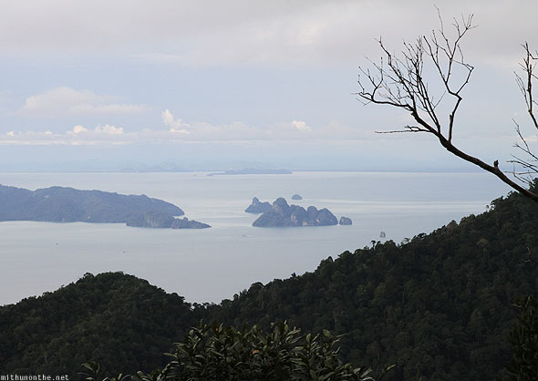 Langkawi geological park nearby islands