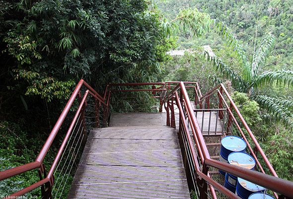 Langkawi Geological Park steps to sky bridge