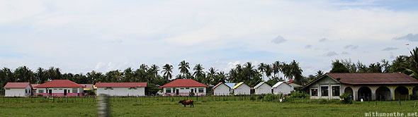 Langkawi paddy field farm houses