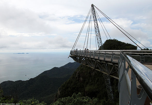 Langkawi sky bridge platform view