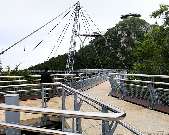 Langkawi sky bridge section