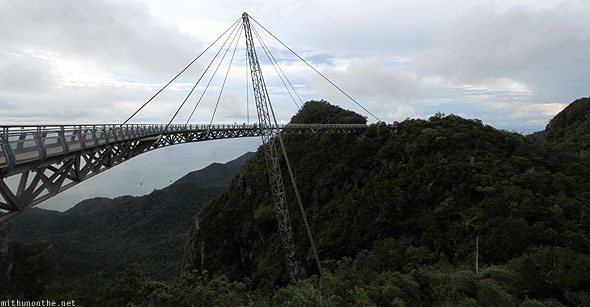 Langkawi sky bridge walkway