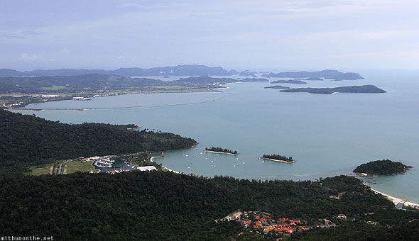 Langkawi view from cable car