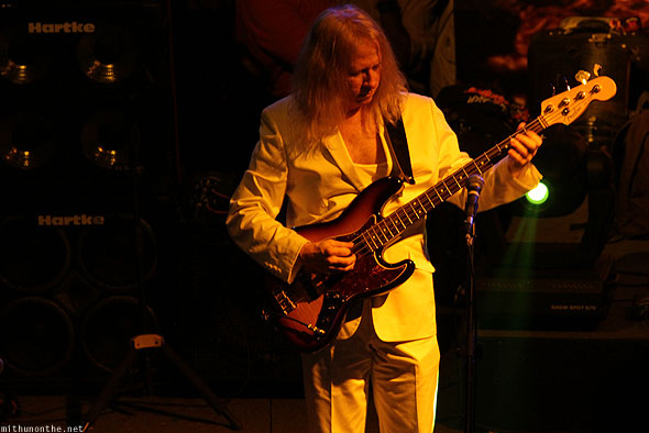 Led Zepplica bassist Johnny Bruhns Bangalore concert