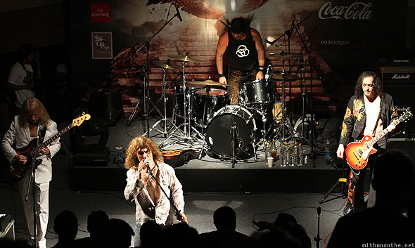 Led Zepplica group Bangalore concert