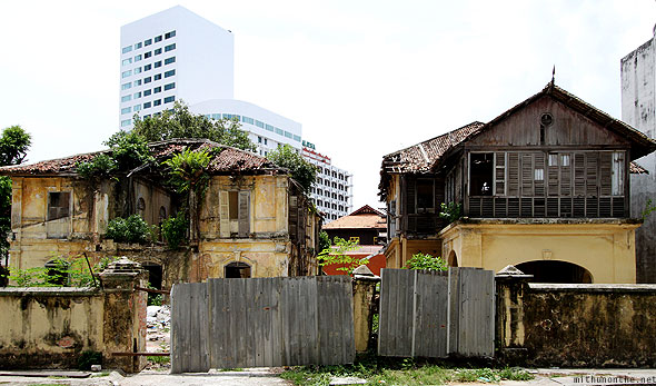 Penang Georgetown old houses