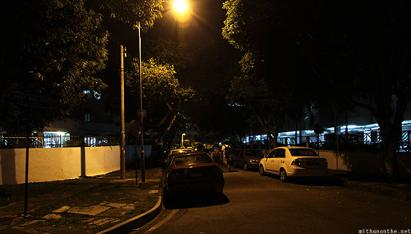 Penang Gurney Drive at night