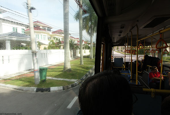 Penang local bus ride Loiyumba